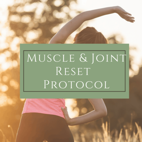 Muscle & Joint Reset - Dr. Mindy Pelz | Reset your Health | Nutrition Health Coach