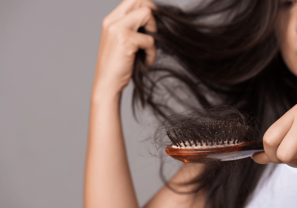 Do you have hair loss when fasting?