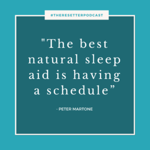 Hacking Your Way To Better Sleep – With Dr. Peter Martone