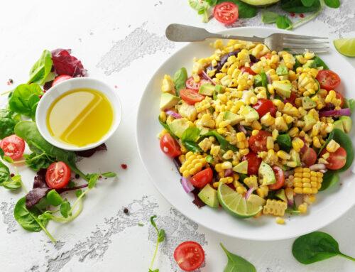 "RESET ""Steve P.'s Kickin' Corn Salad"""